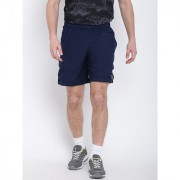 Reebok Men's Navy Polyester Shorts