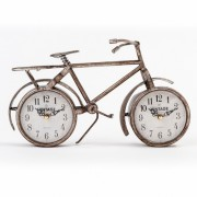 Vintage Clock Co. Self Standing Double Bicycle Clock