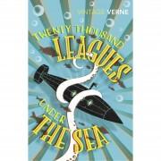 Vintage Twenty Thousand Leagues Under the Sea by Jules Verne (paperback)