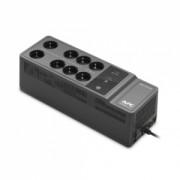 BE650G2-GR - Offline - 650 VA - 400 W - Sinusoida aproximata - Mini Tower - Conectori intrare 1 x Schuko CEE 7 - Conectori iesire 6 x Schuko CEE 7 - Interfete USBType C- 230 V -