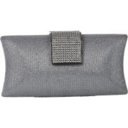 Dice Party Silver Clutch