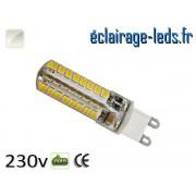 Ampoule LED G9 3.5w smd 2835 blanc naturel 230v