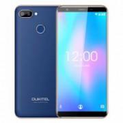 Telefon Mobil Oukitel C11 Pro Albastru 5.5 Inch 18 9 Android 8.1 MTK6739 3G RAM 16G ROM 8MP+2MP 3400mAh 4G