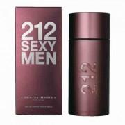 Carolina herrera 212 sexy men 100 ml eau de toilette edt spray profumo uomo