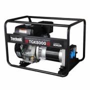 Generator portabil de curent electric monofazat, motor benzina, 6.8KW, Technik TGK8000