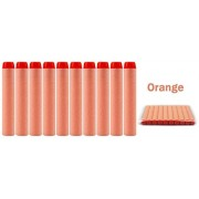 Nerf-N-Strike & Elite Rampage Retaliator Series Blasters Refill Clip Darts Soft Nerf Bullet ( package of 50 ) - ORANGE by Eva