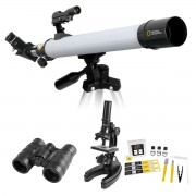 National Geographic Telescope, Microscope And Binoculars Adventure Set 10+ Years