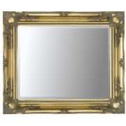 Gold Swept 36x24 Bevelled Mirror