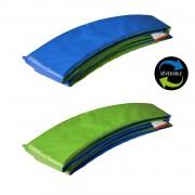 Happy Garden Matelas de protection réversible pour trampoline Ø370cm PERTH - vert/bleu