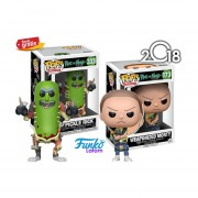 Pickle Rick Y Weaponized Morty Funko Pop Rick & Morty Caricaturas