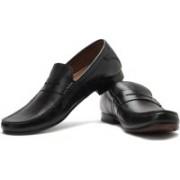 Clarks Gent Top Slip On Shoes For Men(Black)
