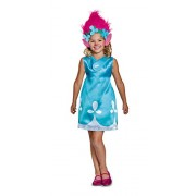 Disguise Poppy Classic W/Headband Trolls Costume