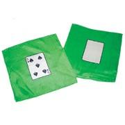 "5 of Spades 9"" Card Silk Set."