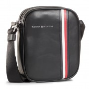 Мъжка чантичка TOMMY HILFIGER - Fine Leather Mini Reporter AM0AM06254 BDS