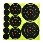 "Birchwood Casey Shoot-N-C Target - 1"""", 2"""", 3"""" Bullseye, 12 Pack"