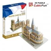 Puzzle 3D CubicFun CBF3 Catedrala Notre Dame din Paris