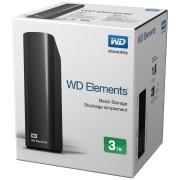3TB Western Digital Elements Desktop 3.5 USB WDBWLG0030HBK-EESN