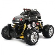 Jeep Grand Cherokee Electric RC Off-Road Monster Truck 1:18 Scale 4 Wheel Drive RTR Working Hinged Spring Suspension Perform Various Drifts (Colors May Vary)