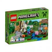 Set de constructie LEGO Minecraft Golemul de Fier