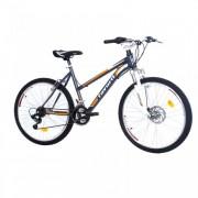 Moutin Bike Contessa 26in 18 FS siva-narandžasta