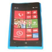 Силиконов гръб ТПУ за Nokia Lumia 925 Син