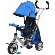 Tricicleta cu sezut reversibil Sunrise Turbo Trike Albastru