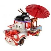 Disney/Pixar Cars, Maters Die-Cast Vehicle, Deluxe Kabuki Mater #3/6, 1:55 Scale
