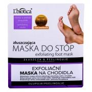 L´Biotica Foot Mask Exfoliating crema per i piedi 1 pz donna