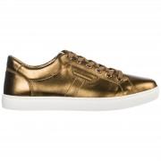Dolce&Gabbana Scarpe sneakers uomo in pelle mordorè