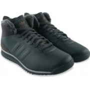 ADIDAS ORIGINALS PORSCHE 911 2.0L MID Sneakers For Men(Black)