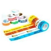 Socepi Nastro adesivo con stampa personalizzabile PVC acrilico 50X66 stampato a 2 colori + cliché compreso