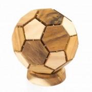 Houten Rubiks Puzzel Voetbal (25 cm)