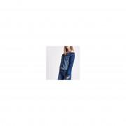 River Island Womens Mid Blue ripped denim jacket (Size 14)