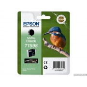 EPSON Matte Black Inkjet Cartridge T1598 for Stylus Photo R2000 (C13T15984010)