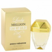 Lady Million Eau My Gold For Women By Paco Rabanne Eau De Toilette Spray 1.7 Oz