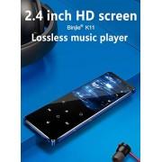 Alician BENJIE K11 IPX4 Reproductor de música con Bluetooth, MP3, sin pérdidas, mini radio FM portátil, grabadora de voz 16 GB SZXSQ-SH0521PEL_04IFB88Q