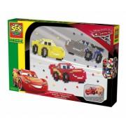 Set de creatie Cars cu margele SES Beedz Disney Cars 3 multicolor 1300 buc