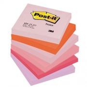 Post-it-notes gekleurd