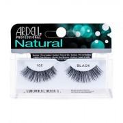 Ardell Natural 105 nalepovací řasy 1 ks odstín Black pro ženy