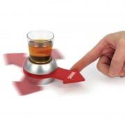 Merkloos Drankspel/drinkspel shot spinner