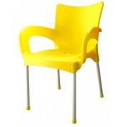 Baštenska stolica Smart, žuta