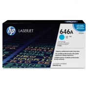 HP 646A Cyan LaserJet Toner Cartridge (CF031A)