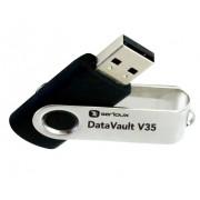 Stick de memorie Serioux DataVault V35 USB 2.0 64GB negru