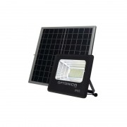 OPTONICA NAPELEMES LED REFLEKTOR / 100W / fekete / hideg fehér / FL5463