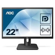 "AOC Essential-line 22E1Q 21.5"" Full HD LED Matt Flat Black Computer Monitor"