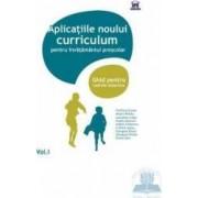 Vol.1 Aplicatiile noului curriculum pentru invatamantul prescolar - Filofteia Grama Mioara Pletea