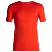 Icebreaker - Tech Lite S/S Crewe - T-shirt technique taille XL, rouge