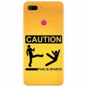 Husa silicon pentru Xiaomi Mi 8 Lite This Is Sparta Funny Illustration