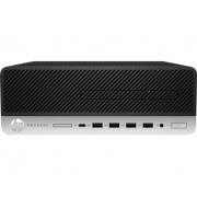 Desktop, HP ProDesk 600 G4 SFF /Intel i3-8100 (3.6G)/ 4GB RAM/ 500GB HDD/ Win10 Pro (2VG42AV)