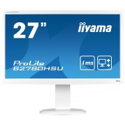 iiyama ProLite B2780HSU-W1 27' LED LCD, TN, 1920x1080, HDMI, HAS, USB